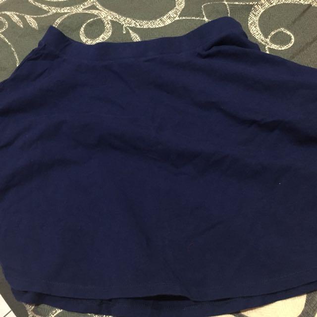 Forever21 Skirt (navy)