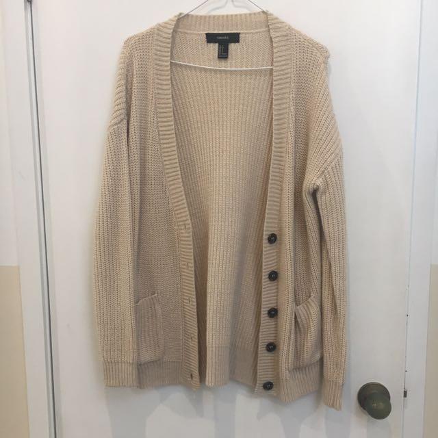 Forever 21 Knit Jacket