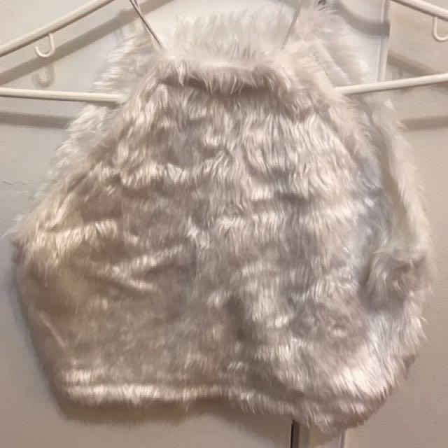 Furry Crop Top