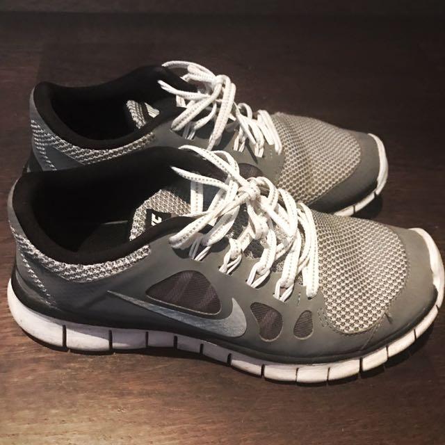 Grey Nike Sneaker (Female, Size 5.5)