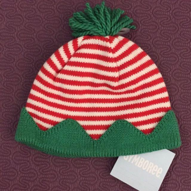 Gymboree 草莓糖果毛線帽