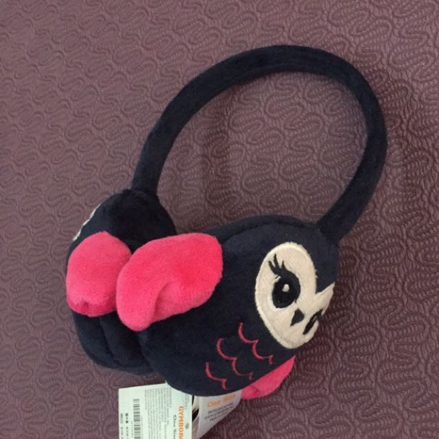 Gymboree 貓頭鷹保暖耳罩