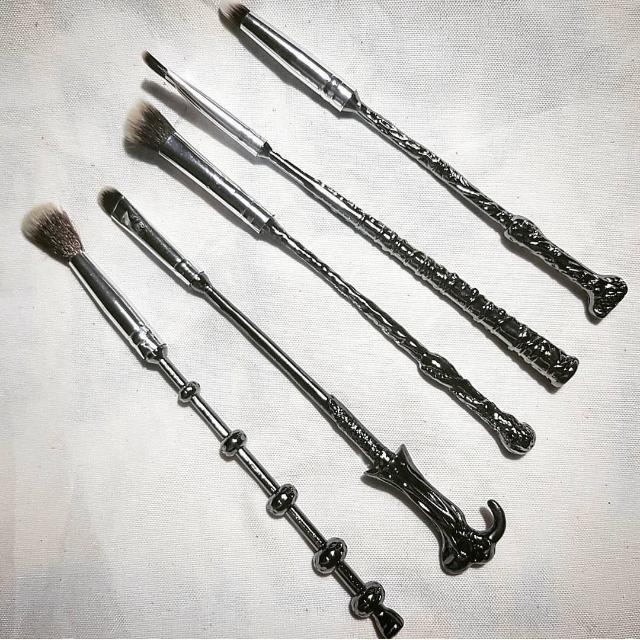 Harry Potter Makeup Brushes by Storybook Cosmetics