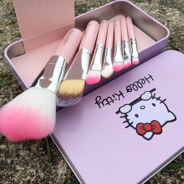 Hello Kitty Brush Brushes Set 7pcs