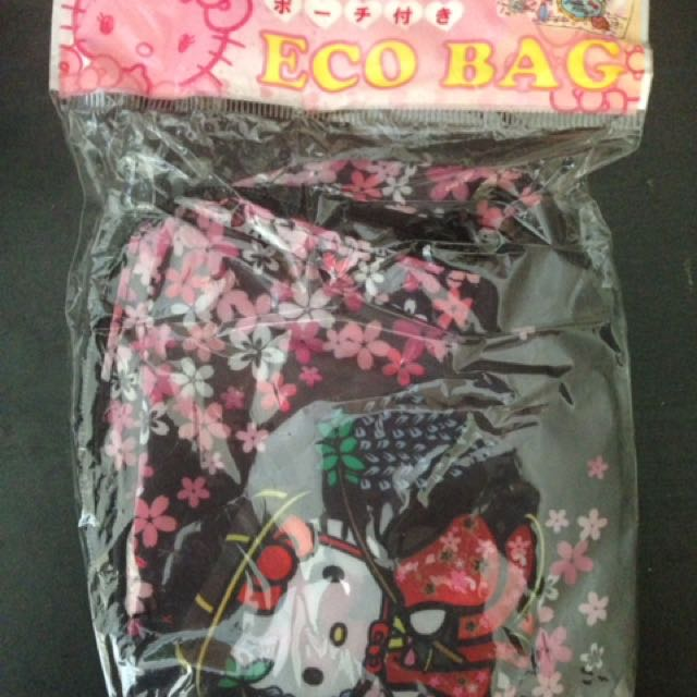 Hello Kitty Eco Bag From Japan!