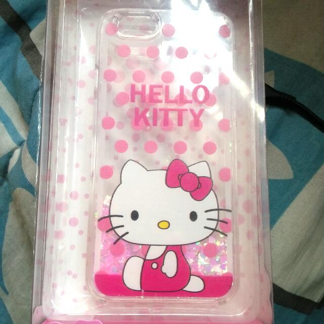 HELLO KITTY MOVING GLITTER CASE