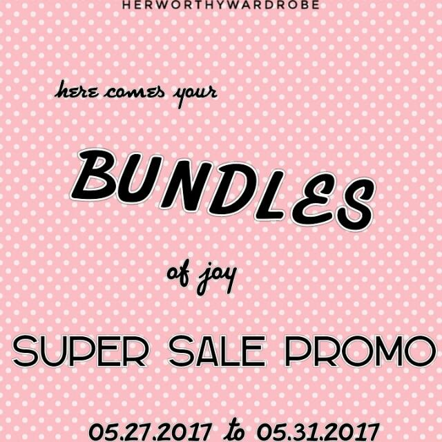 Hey fellow Queens... 👸  Enjoy our #BUNDLES of joy, #supersale #promo  May 27 to May 31, 2017