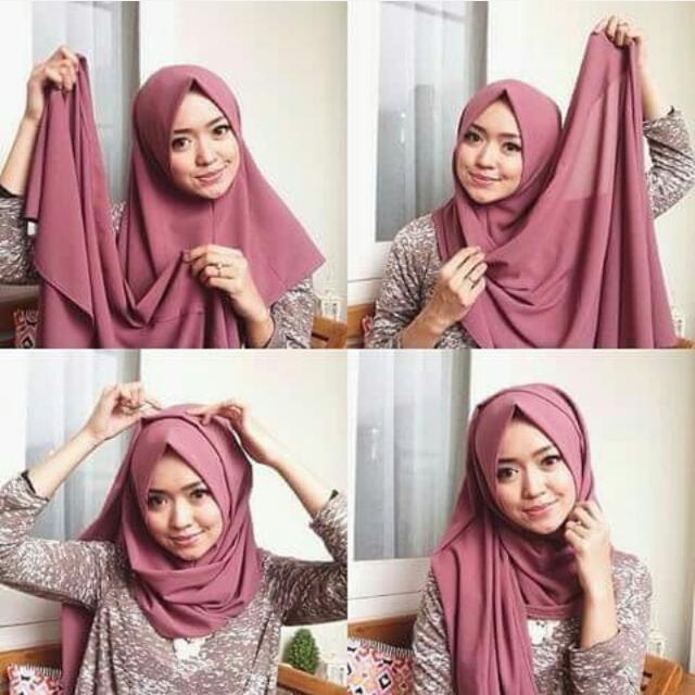 Hijab Semi Instant / Pasmina /Pashmina (take all 70rb)