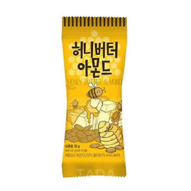 HONEY BUTTER ALMOND SNACK KOREA