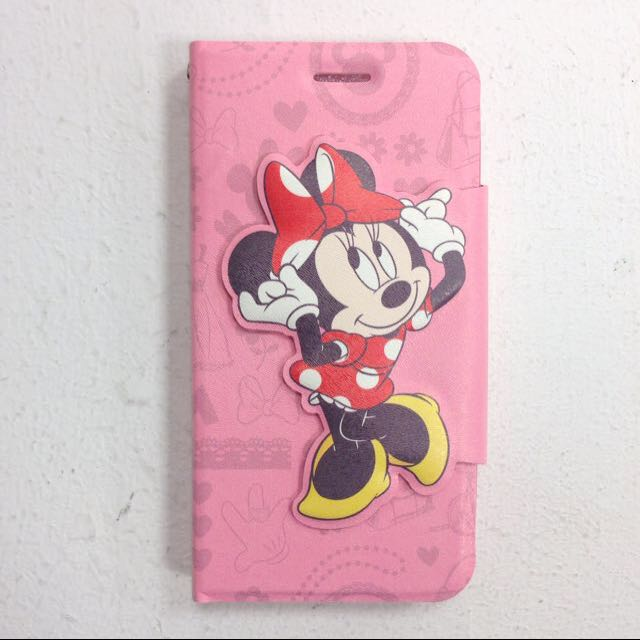 全新🎀HTC One M8 Disney 迪士尼 Minnie 米妮 手機皮套
