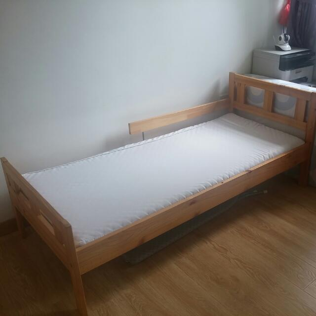Ikea Sultan Lade Bed Frame And Mattress For Kid Furniture Beds