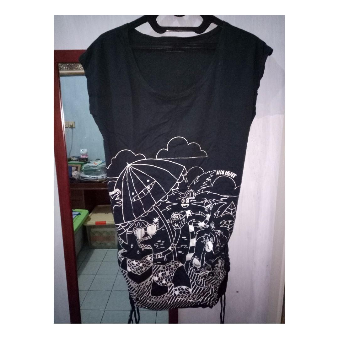 Insight Black Dress Casual