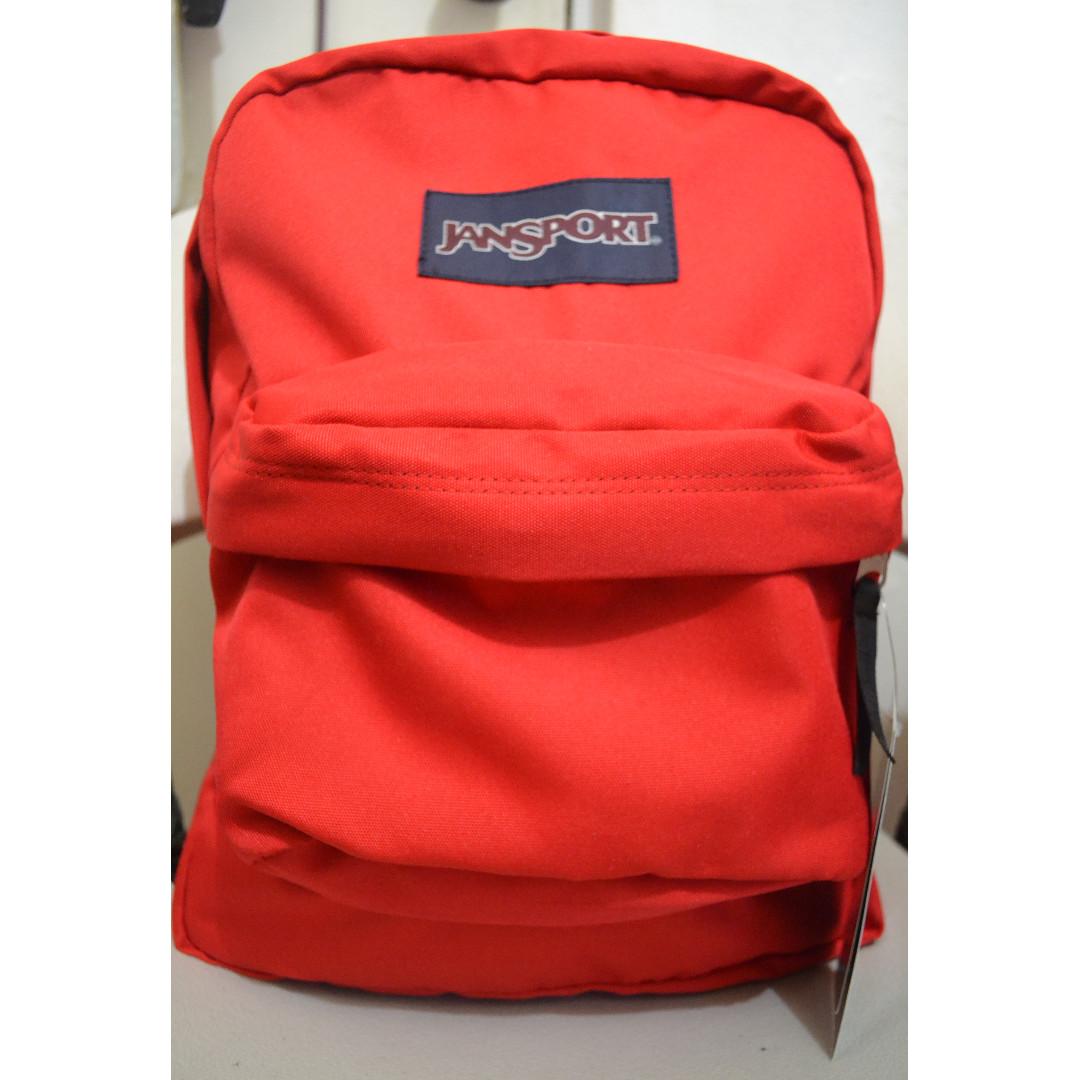 Jansport Superbreak Backpack Red Tape (T501)