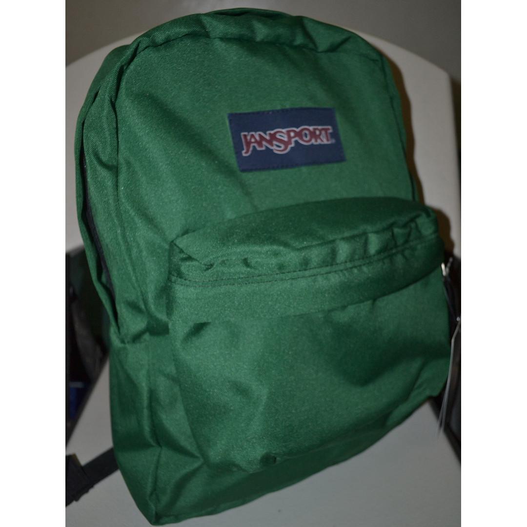Jansport Superbreak Backpack Amazon Green (T501)