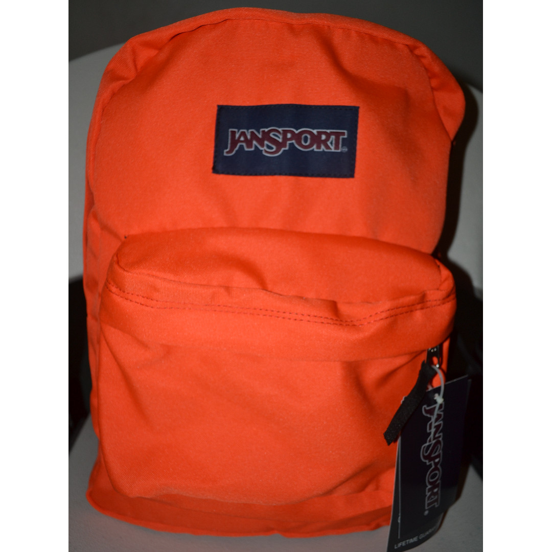 Jansport Superbreak Backpack Tahitian Orange (T501)