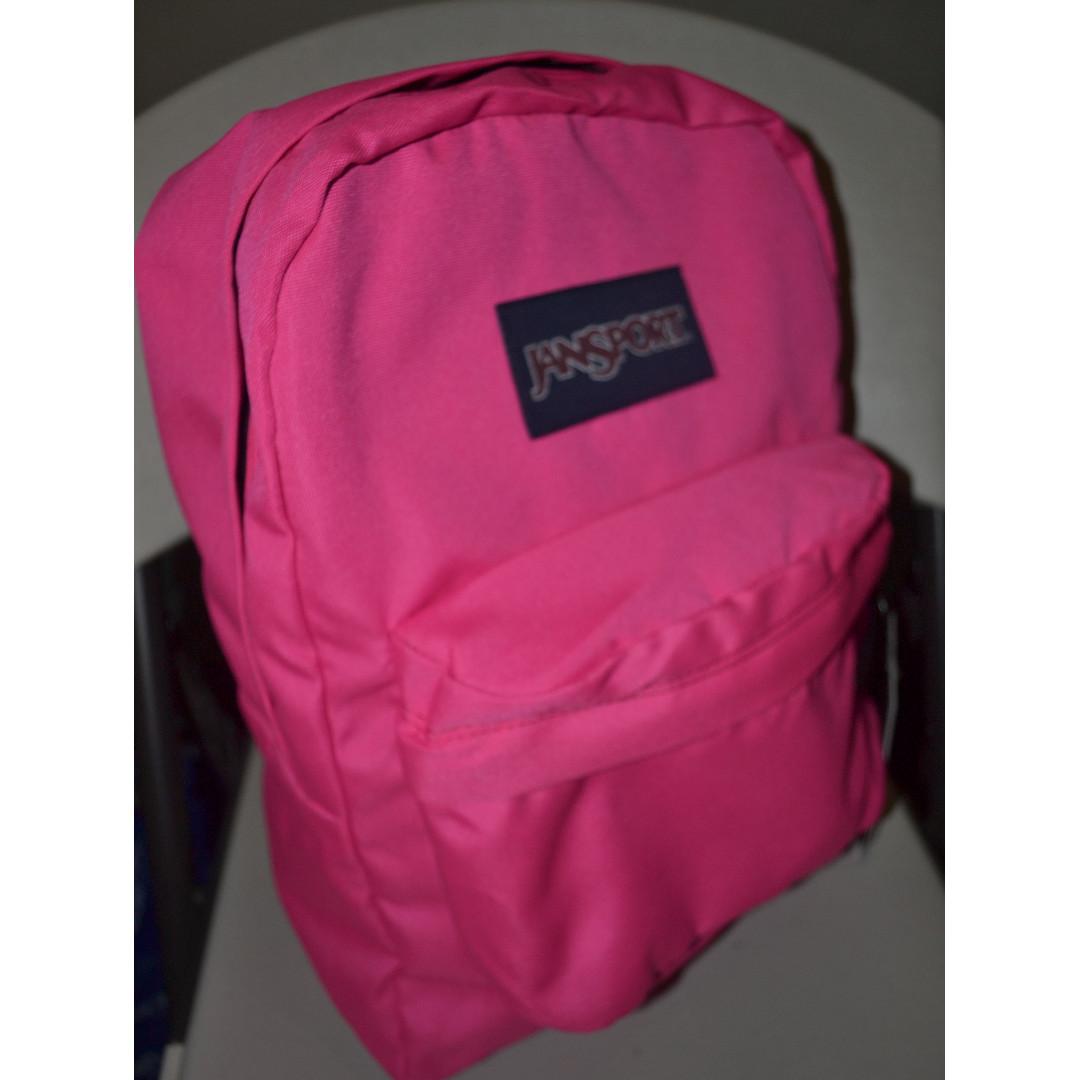 Jansport Superbreak Backpack Ultra Pink (T501)