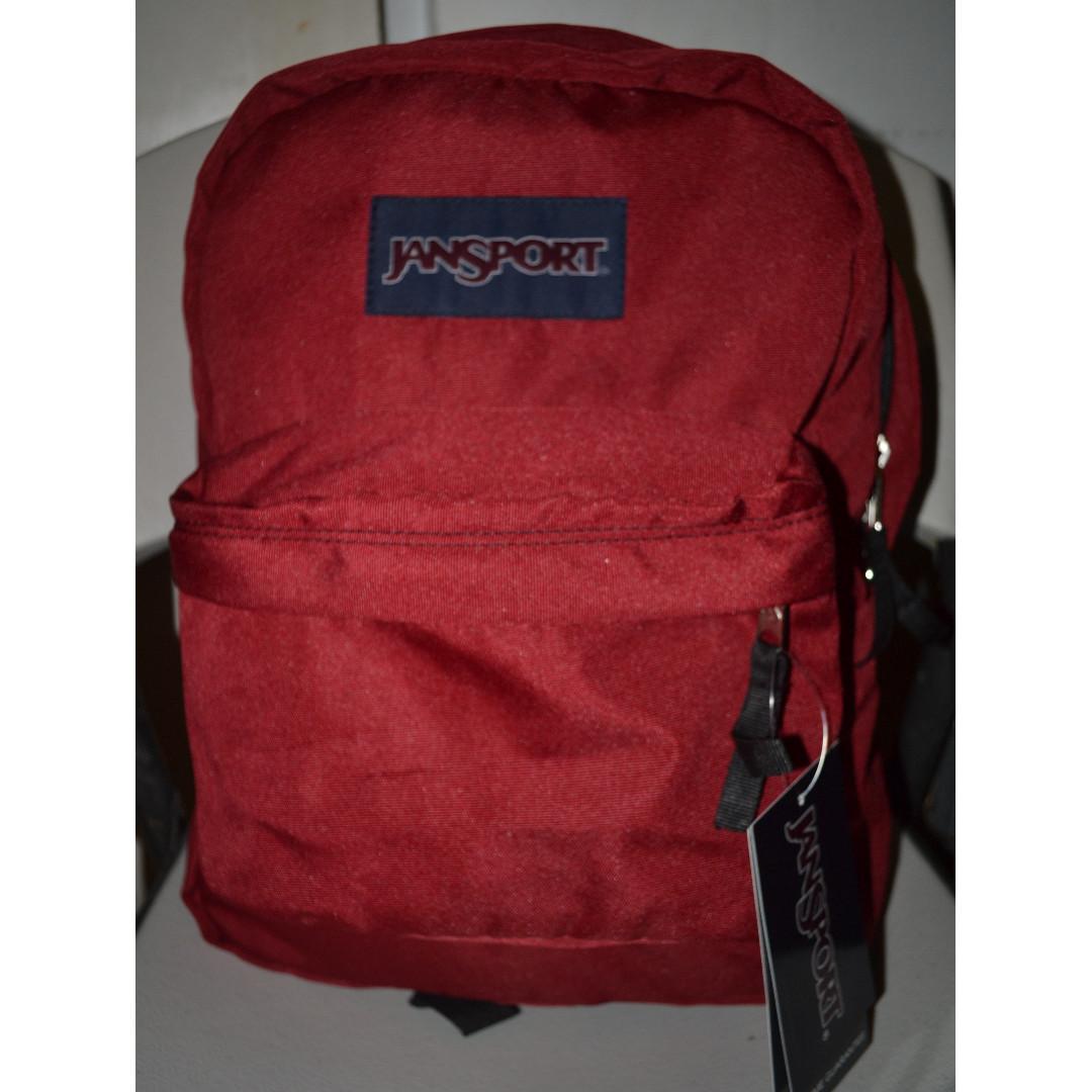 Jansport Superbreak Backpack Viking Red (T501)