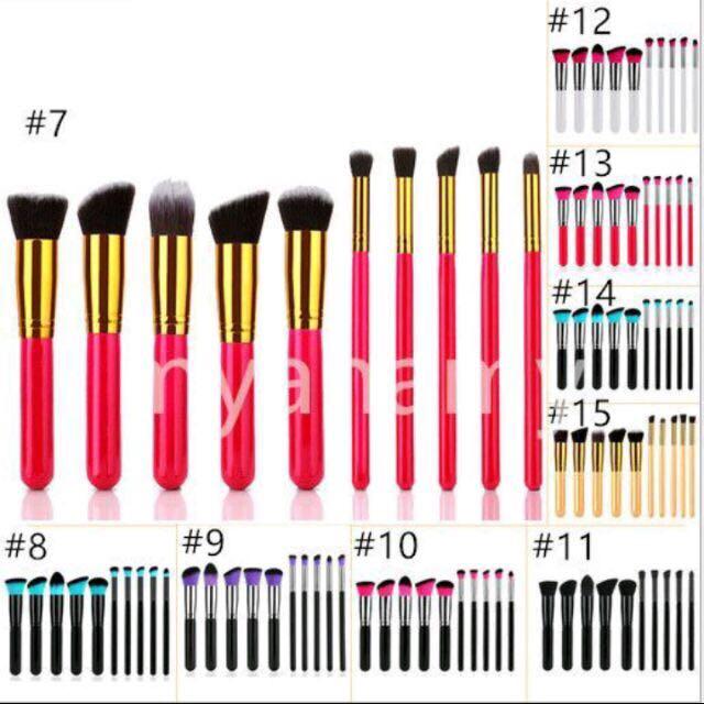 Kabuki Set Brush 10pcs