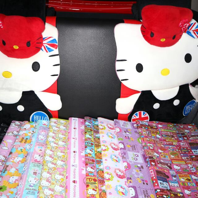 Kertas Kado HELLO KITTY