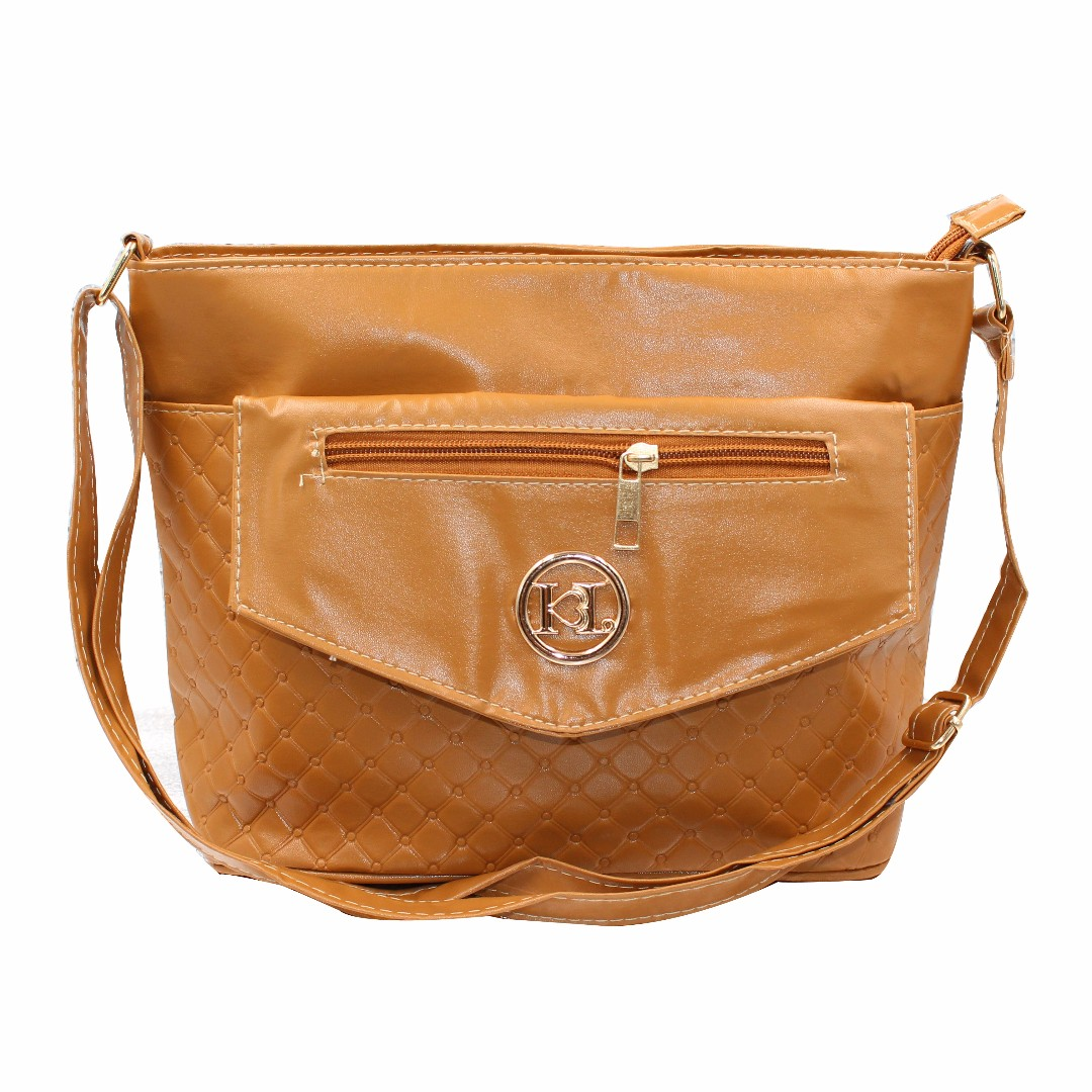 KL–719 Women Body Shoulder Bag (Brown)
