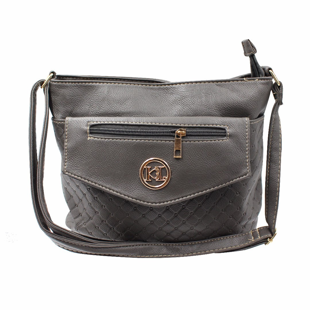 KL–719 Women Body Shoulder Bag (Gray)