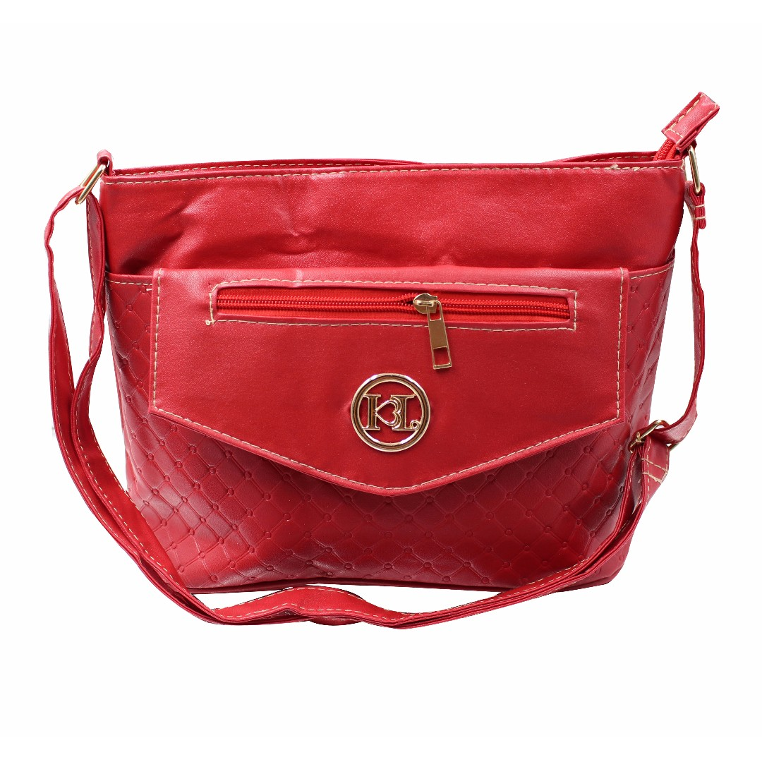 KL–719 Women Body Shoulder Bag (Red)