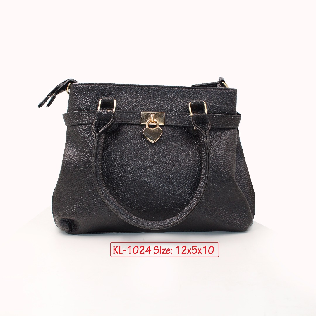 KL - 1024 Women Shoulder Bag (Black)