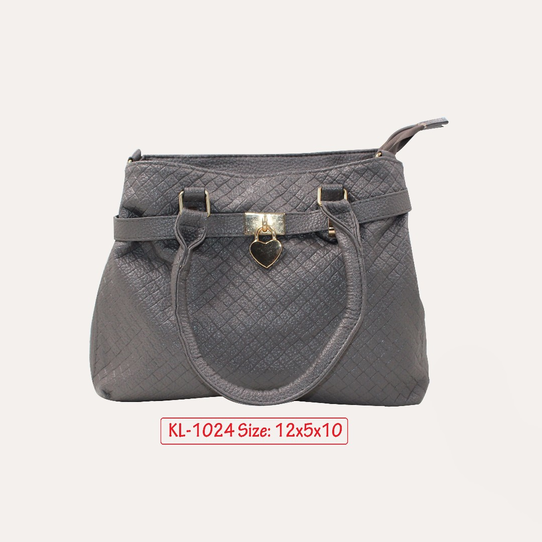 KL - 1024 Women Shoulder Bag (Gray)