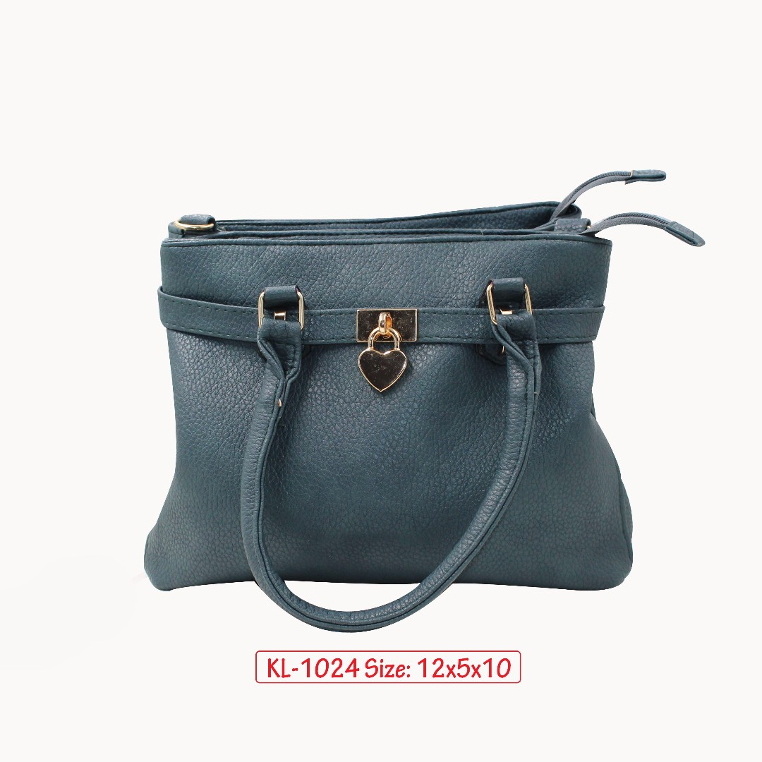 KL - 1024 Women Shoulder Bag (Navy Blue)
