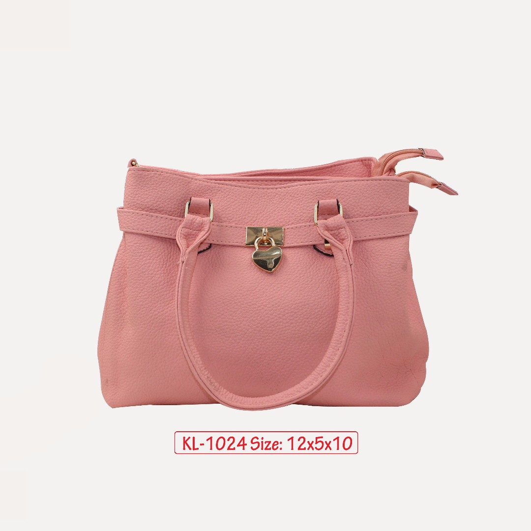 KL - 1024 Women Shoulder Bag (Pink)