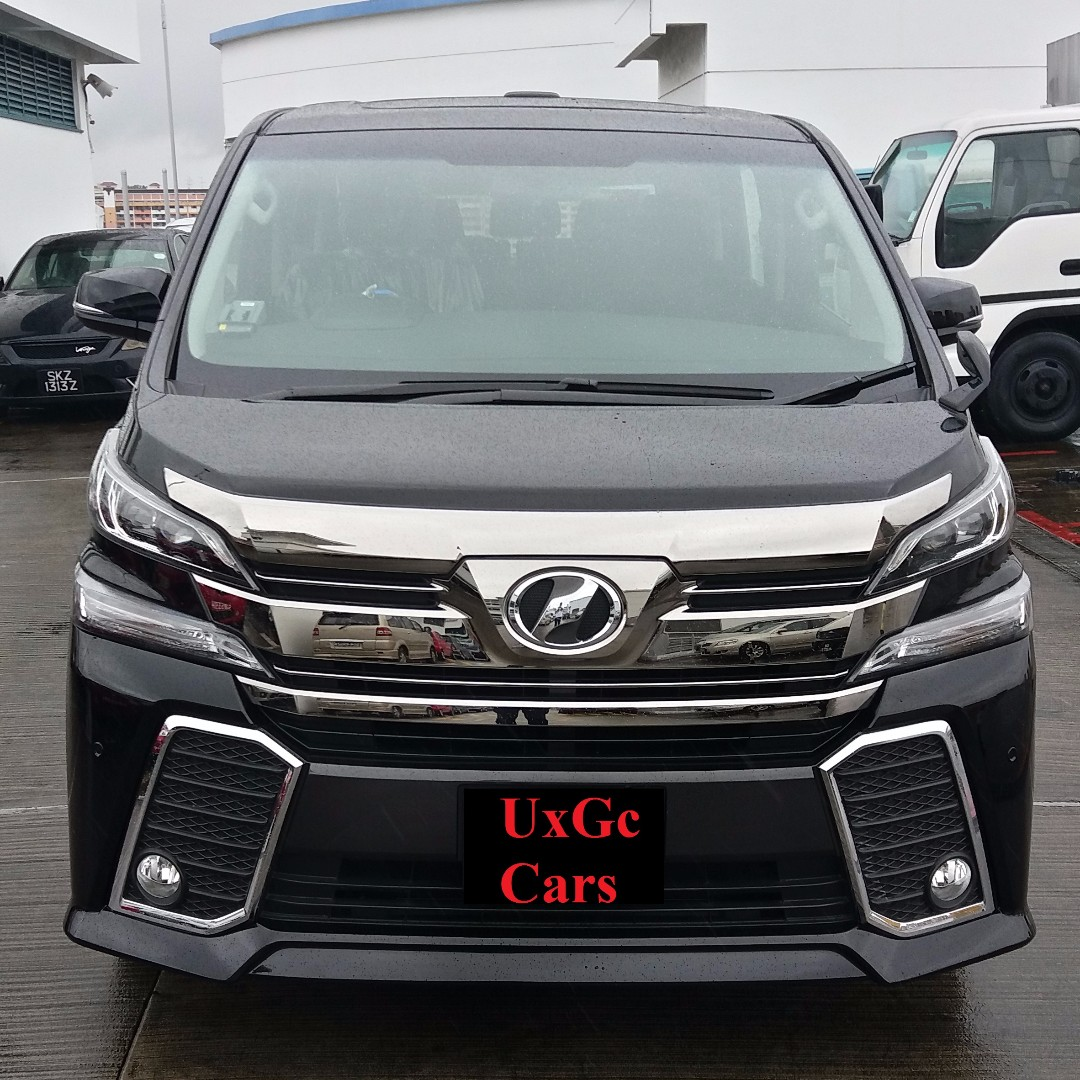 Lease To Own Car >> Lease Own Toyota Vellfire Z Ver 2 5l 2017 Brand New Ready For