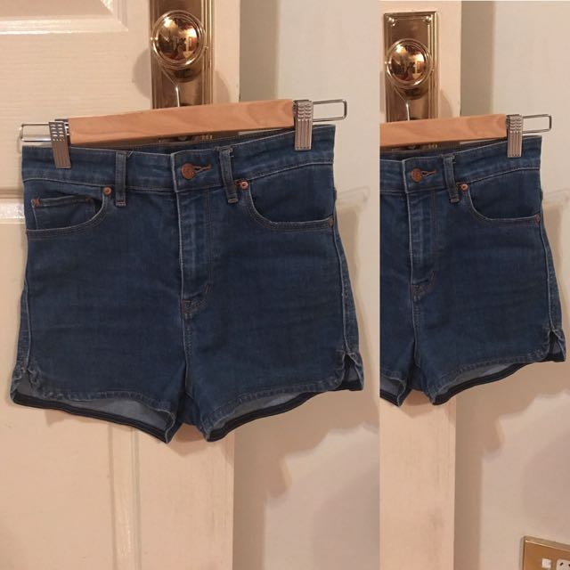 Lee Denim Blue Shorts