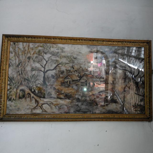 Lukisan Dari Bulu Ayam