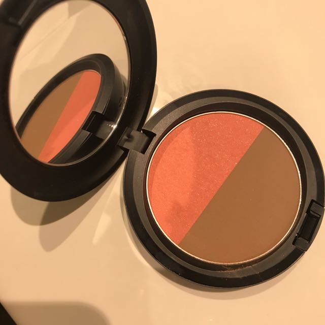 Mac bronzer and blush 2in1