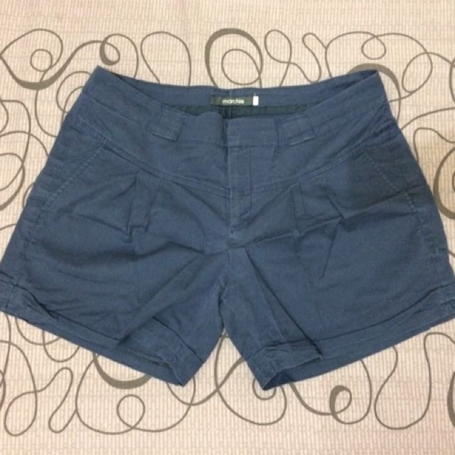 Marchie Hot Pants Navy