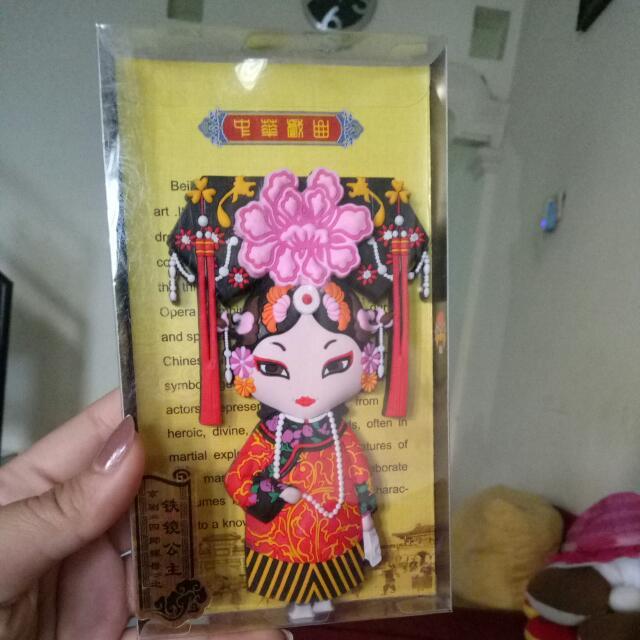Magnet Kulkas Chinese Opera
