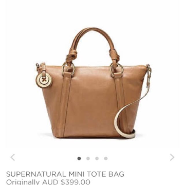 MIMCO Supernatural Mini Tote Honey