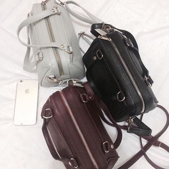 Mini Bowler Bag . Sling Bag