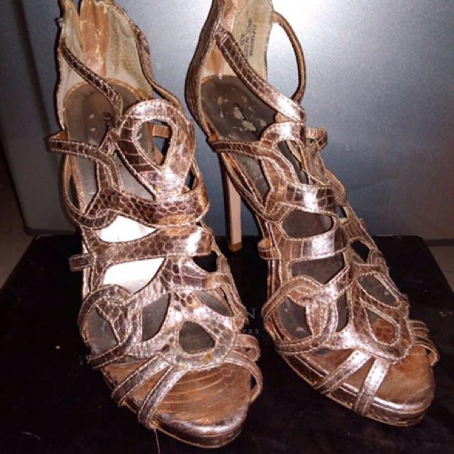 Miss Selfridge Prelove Rose Gold Heels