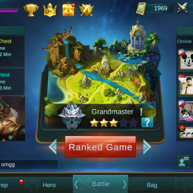 Mobile Legends Account Lvl 30 Toys Games Video Gaming Video Games On Carousell
