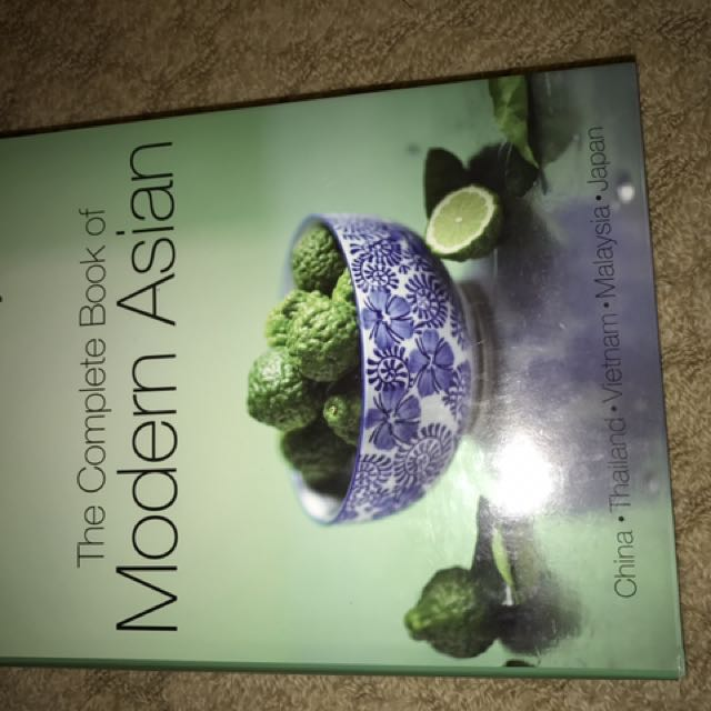 Modern Asian Cookbook
