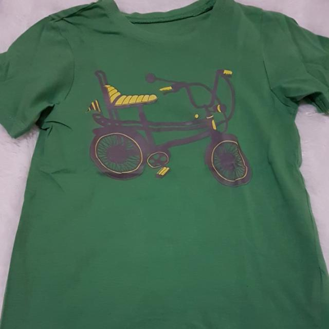 Mothercare 4-5 years preloved Green bike