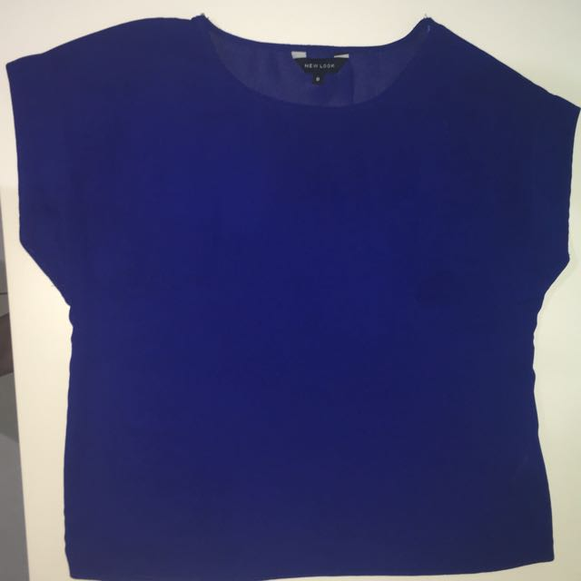 New Look blue top