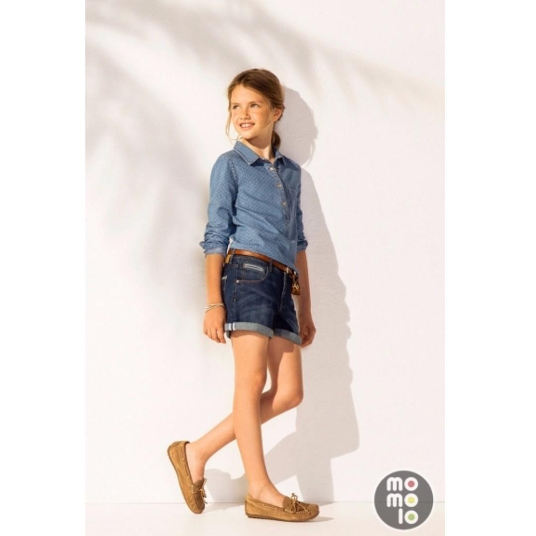 New Massimo Dutto Girls Denim Shirt