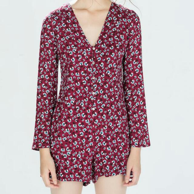 New Zara Winter Playsuit (Small)