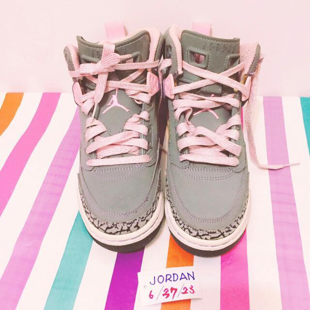 NIKE JORDAN四代爆裂紋女鞋