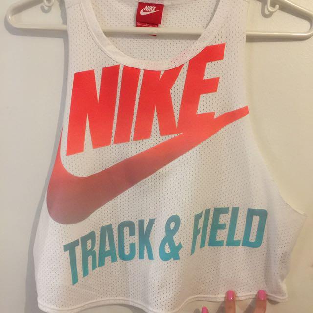 Nike Mesh Croptop Size Med