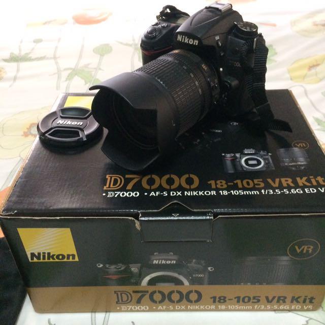 Nikon D7000 18-105mm VR f/3.5-5.6