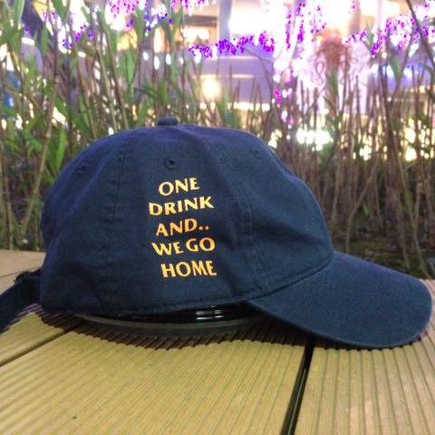 外國品牌one drink翻玩anti 老帽 4色
