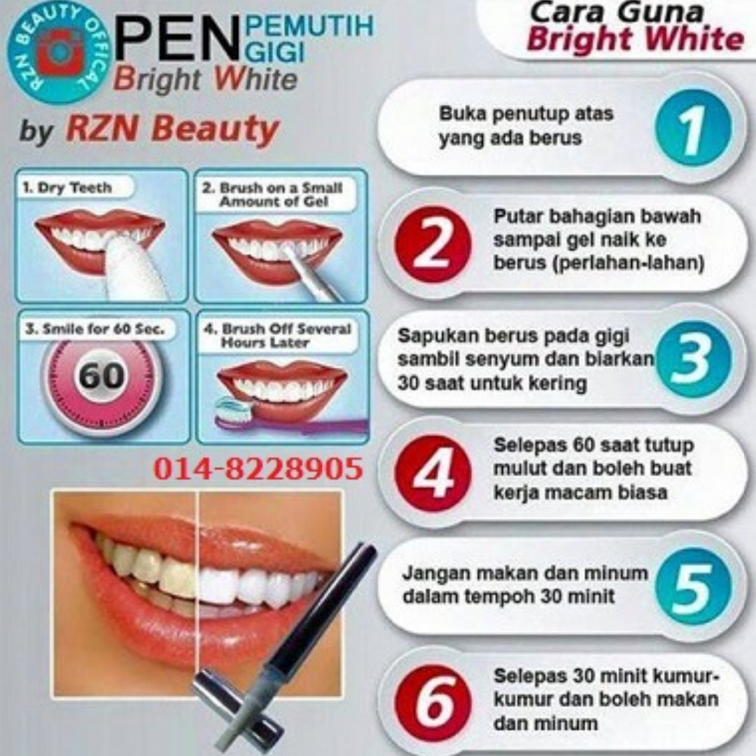 PEN PEMUTIH GIGI BY RZN BEAUTY faf102a4f5